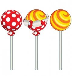 lollipop vector image
