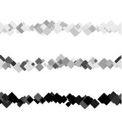 repeatable abstract square pattern text rule line vector image