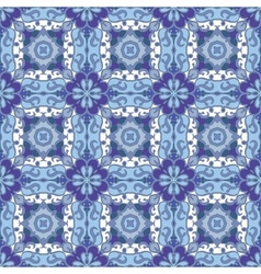 Seamless symmetrical pattern vector image