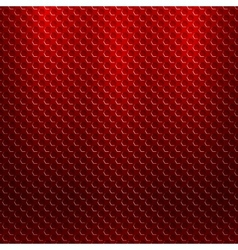 abstract seamless metallic pattern with hexagon vector image