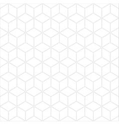 Subtle geometrical seamless pattern vector image