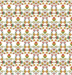 Background with seamless pattern five vector