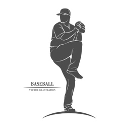 Baseball players sport vector