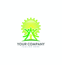 Family happy organization business consulting vector