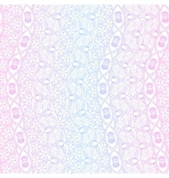 Indian pink and blue seamless pattern vector image vector image