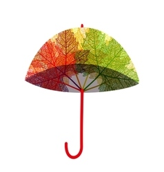 Isolated umbrella EPS10 vector