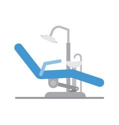 Medical dental arm-chair vector