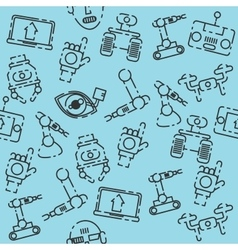 Robotic set pattern vector