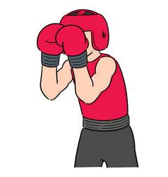 set boxer vector image