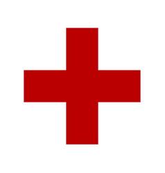 Symbol medicine cross vector