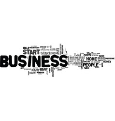 are you ready to start your own home business vector image vector image