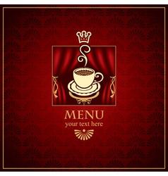 menu scene vector image