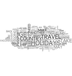 Are you ready to travel for the holidays text vector