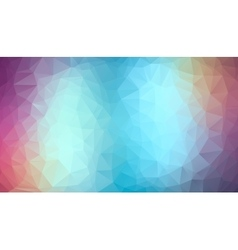 Blue and Violet abstract polygonal background vector image