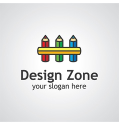 design zone logo vector image