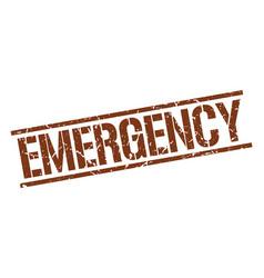 Emergency stamp vector