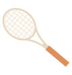 racket for tennis or badminton sport image vector image