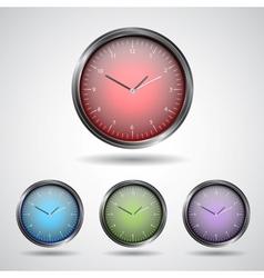 Set watch icon vector image