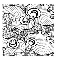 Simple black and white patterns backgrounds vector