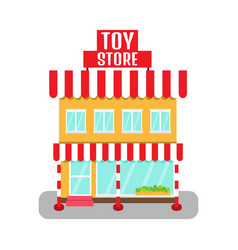 toy store icon vector image