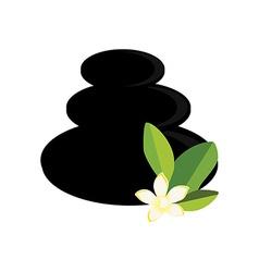 Spa stones vector image