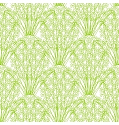 seamless repeating pineapple pattern on vector image