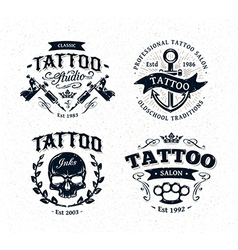 Tattoo Emblems 2 vector image vector image
