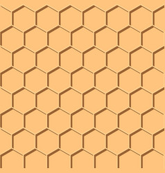 abstract honey print seamless geometric pattern vector image