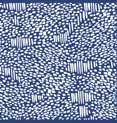 Abstract snake navy blue white pattern vector