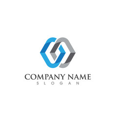 Business corporate abstract unity logo vector