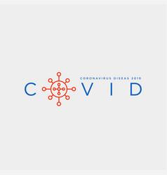 covid19 19 corona virus symbol icon protect vector image
