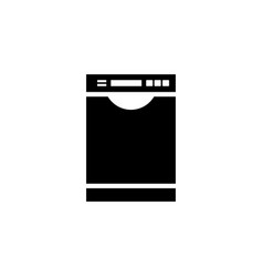 dishwasher icon vector image