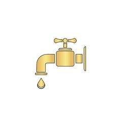 Faucet computer symbol vector image
