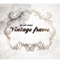 Rustic Vintage Frame vector image