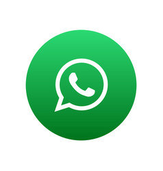 whatsapp icon vector image