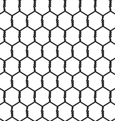 Seamless Wire Mesh vector image