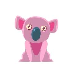 Koala Bear Toy Exotic Animal Drawing vector image vector image