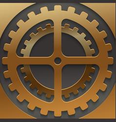 modern mechanism background design vector image vector image
