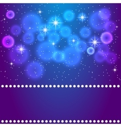 space blue background vector image vector image
