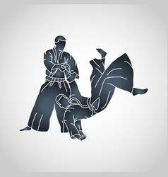 Aikido logo icon vector