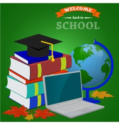 back to school1 vector image