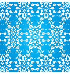 Background with seamless pattern seven vector