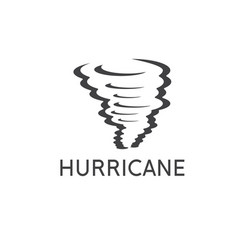 design template abstract hurricane vector image