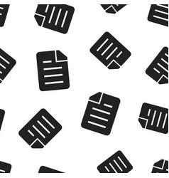 Document folder portfolio seamless pattern vector