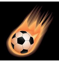 Soccer-fire vector
