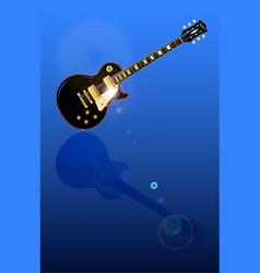 Solid blues reflectins vector