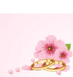 wedding concept vector image