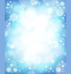 Winter theme background 4 vector