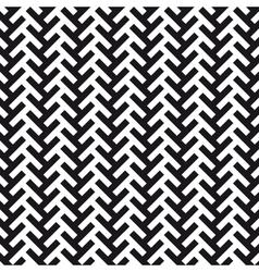 chevron cross pattern background vector image vector image