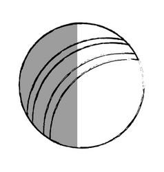 Balloon plastic isolated icon vector